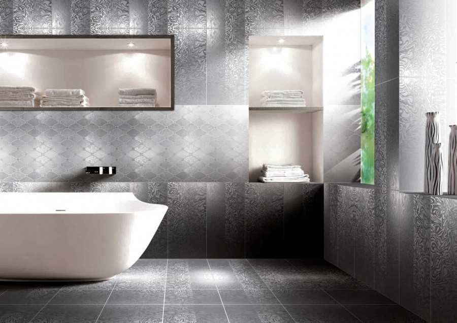 Metallic floor tiles porcelain