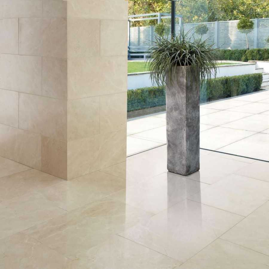 Carrara floor tile