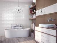 Белая плитка — примеры оформления стильного дизайна при помощи светлых тонов (110 фото)