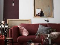 Бордовый цвет в интерьере — 111 фото сочетаний и яркого дизайна интерьера
