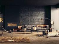 Черный интерьер — 127 фото роскошного дизайна с применением черного