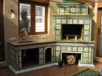 Плитка для печи — термостойкие, огнеупорные, керамические варианты для украшения печей (119 фото)