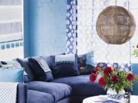 Синий цвет в интерьере — воздействие цвета и сочетания с другими оттенками (111 фото)