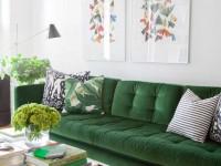 Зеленый цвет в интерьере — сочетания и особенности применения для дизайна разных помещений (115 фото)