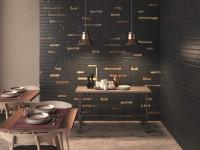 Черная плитка в интерьере: 90 фото примеров использования в дизайне современного интерьера