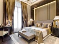 Золотой интерьер: правила использования в дизайне гостиной, спальни и кухни (115 фото)