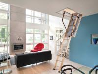 Чердачные лестницы: советы по выбору, разновидности дизайна и особенности установки (65 фото)