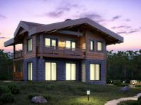 Дом в стиле Шале — оформление дизайна и описание вариантов применения стиля к интерьеру (80 фото)