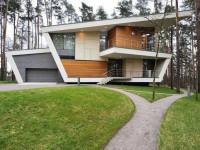 Дома в стиле Хай-Тек — 90 фото современных дизайнерских идей и проектов