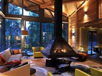 Интерьер в стиле шале — 120 фото стильного и уютного современного европейского дизайна
