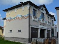 Отделка фасада дома — современные материалы и примеры разнообразного стильного дизайна (100 фото)